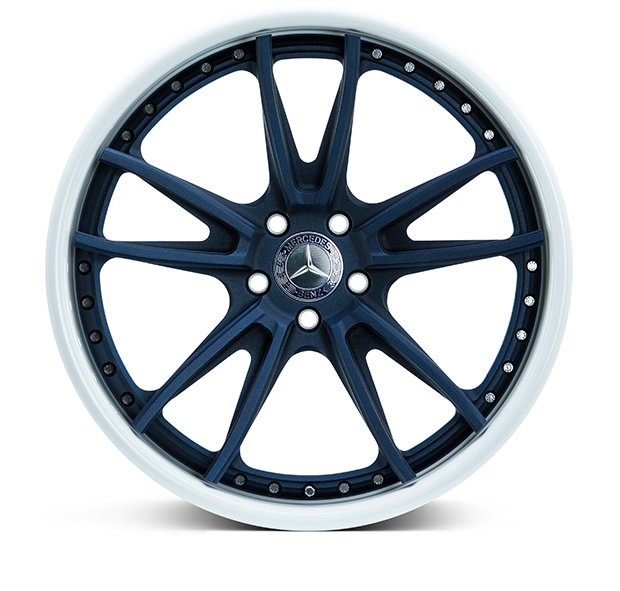 Vossen S17-06 3-Piece Wheels Custom Denim Blue Finish