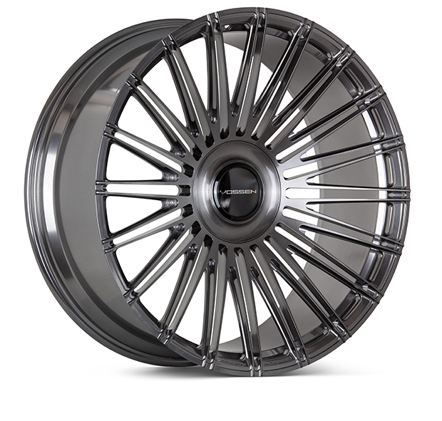 Vossen S17-14 Wheels Custom Brushed Dark Smoke Finish