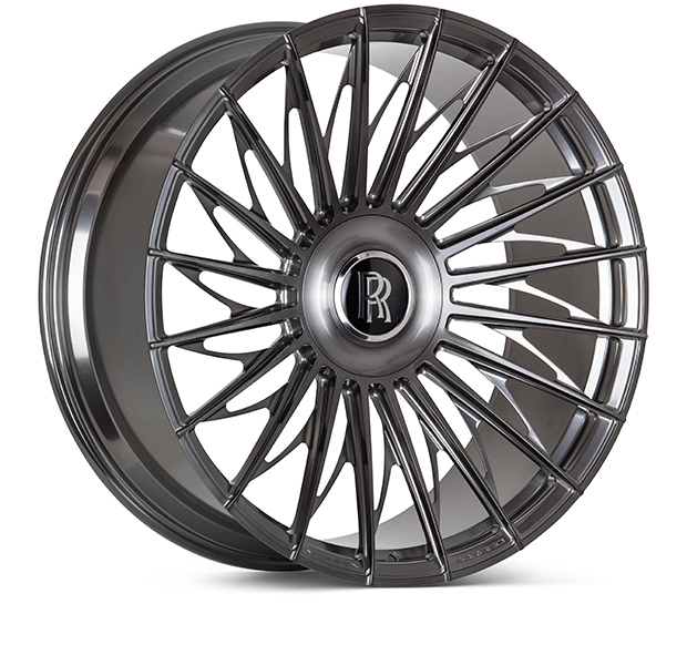 Vossen S17-15T Wheels Custom Dark Smoke Finish