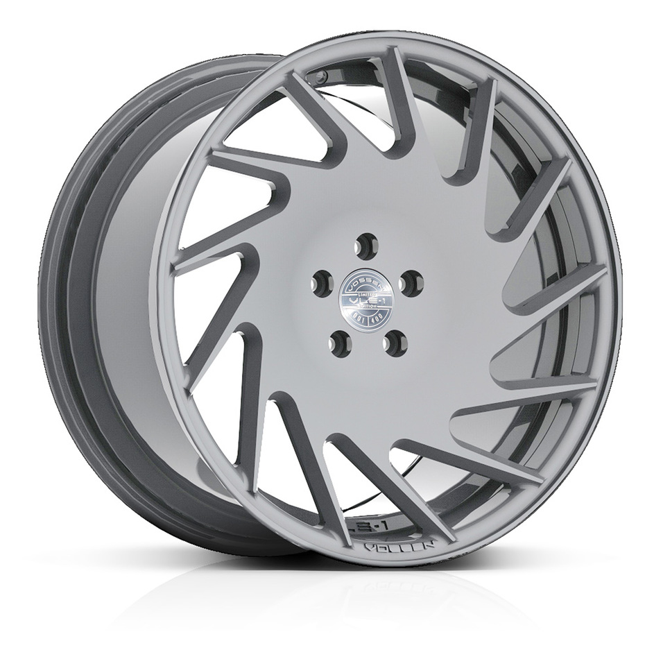 Vossen VLE-1 Metallic Gloss Silver Finish Wheels