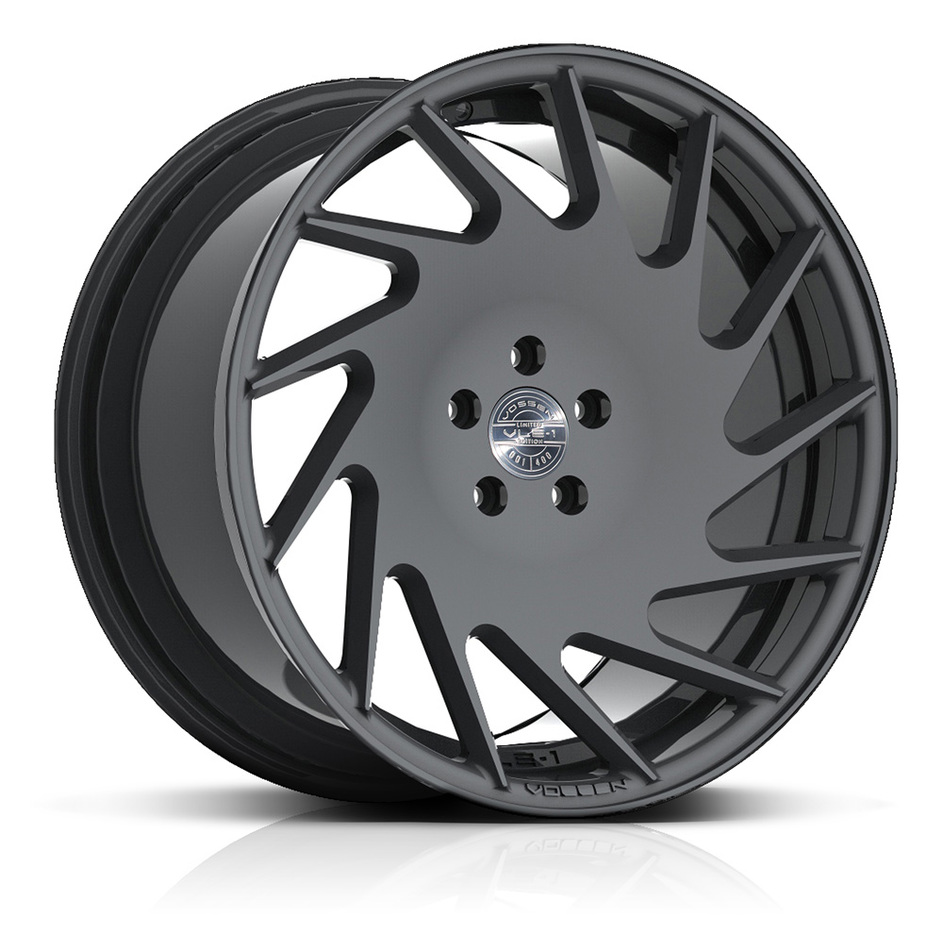 Vossen VLE-1 Gloss Graphite Finish Wheels