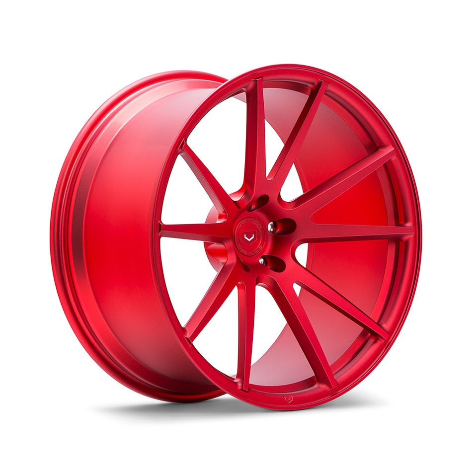 Vossen VPS-301 Scarlet Red Finish Wheels
