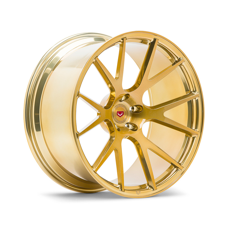 Vossen VPS-306 Custom Imperial Gold Finish Wheels