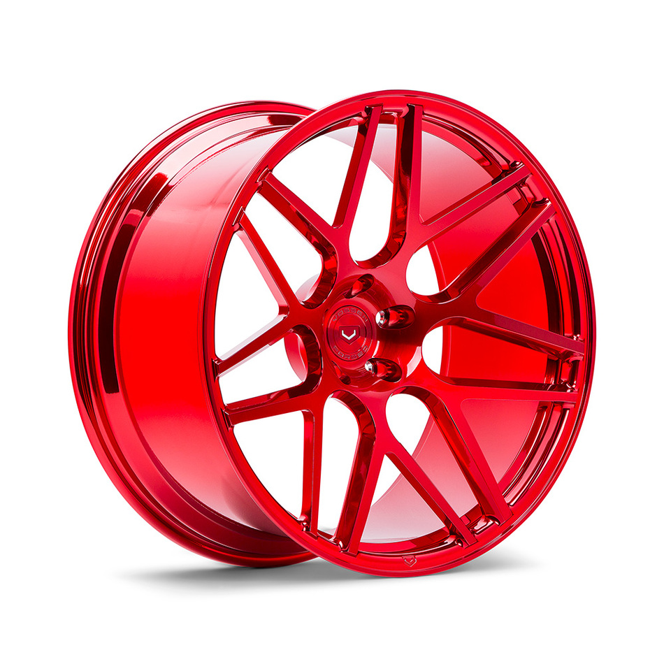 Vossen VPS-315 Vossen Red Finish Wheels