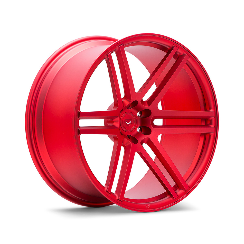 Vossen VPS-316 Scarlet Red Finish Wheels