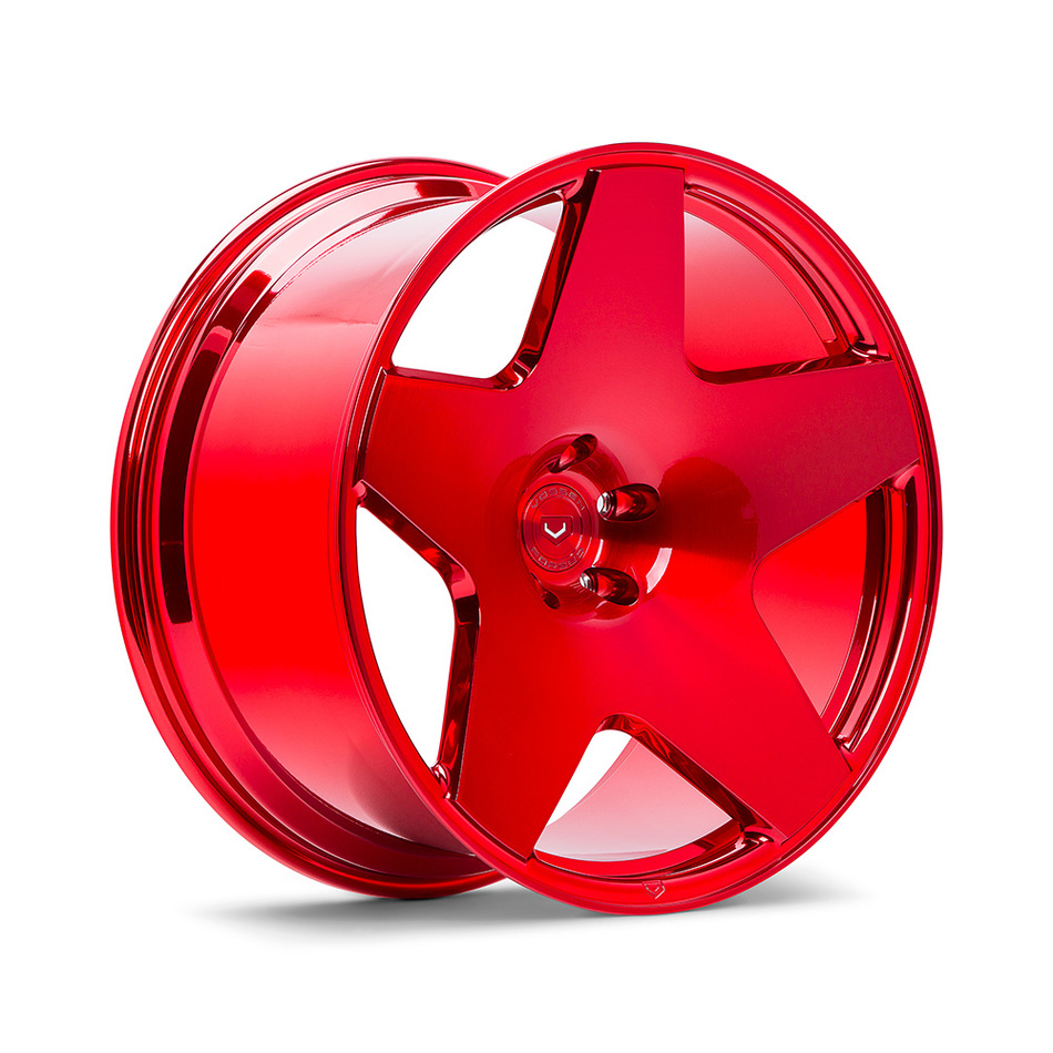 Vossen VPS-318 Vossen Red Finish Wheels