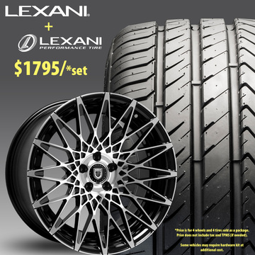 20in Lexani CSS16 Wheel Package - $1,795