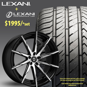 22in Lexani CSS15 Wheel Package - $1,995
