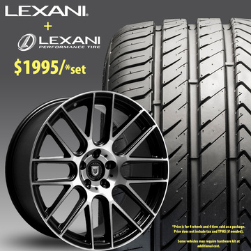 22in Lexani CSS8 Wheel Package - $1,995