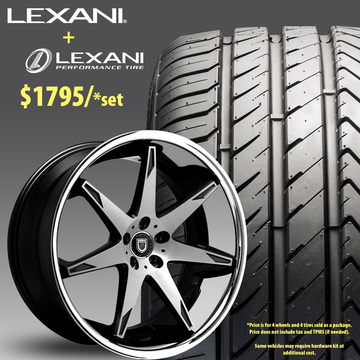 22in Lexani R-Fourteen Wheel Package - $1,995