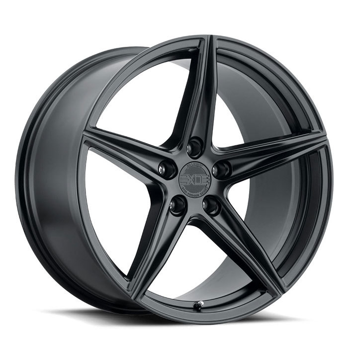 XO Luxury Auckland Matte Black Wheels
