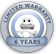 Icon Warranty 6years