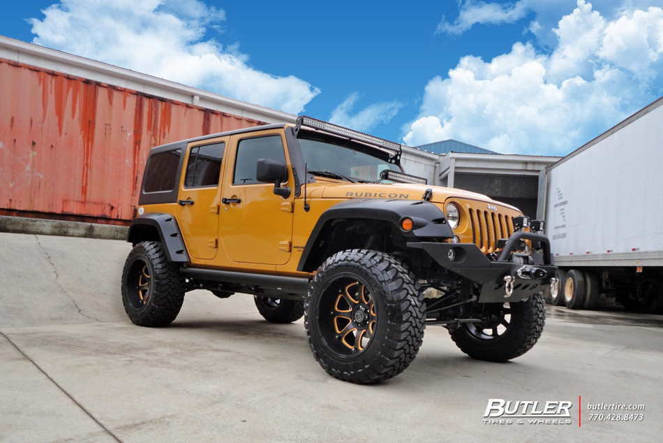 Jeep Wrangler Rubicon With 20in Black Rhino Glamis Wheels Web 1