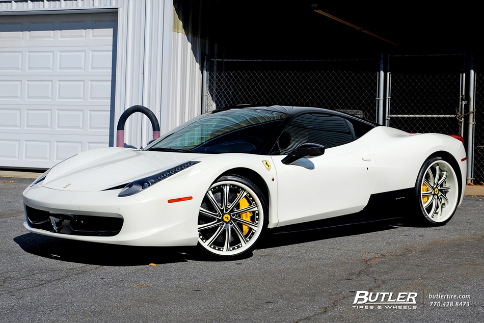 Ferrari 428 Italia >> Ferrari 458 Italia Ghost Edition - Trending at Butler Tires and Wheels in Atlanta GA