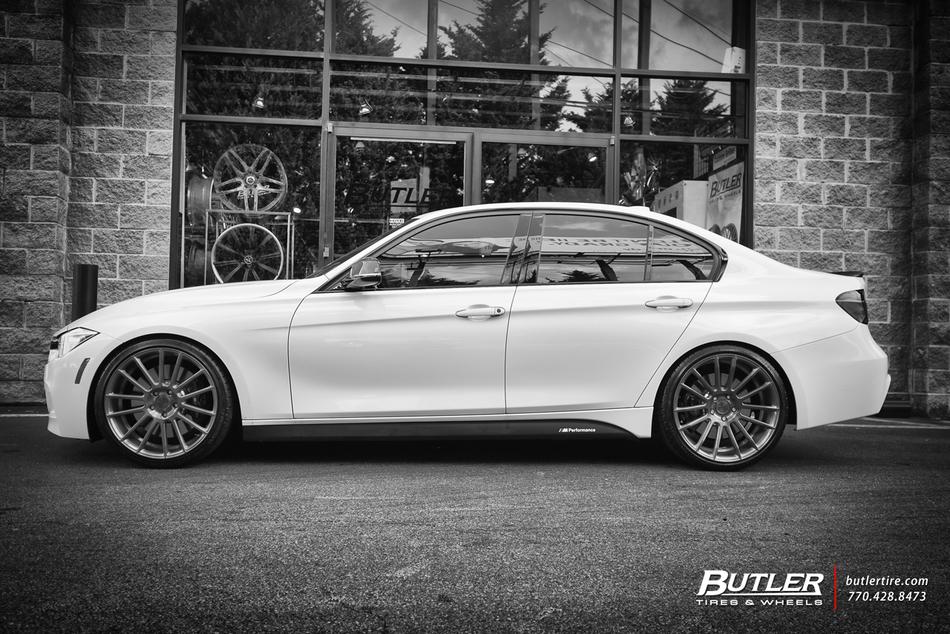 2015 Bmw 335i M Sport On 20in Savini Bm9 Wheels Trending
