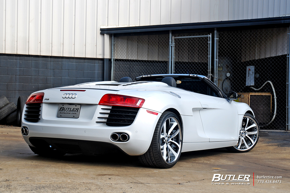 Audi R8 Spyder with Custom 20in Asanti CX503 Wheels - Trending at Butler Tires and Wheels in ...