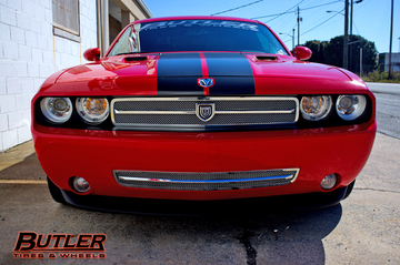 Wide Body Dodge Challenger on Asanti Wheels