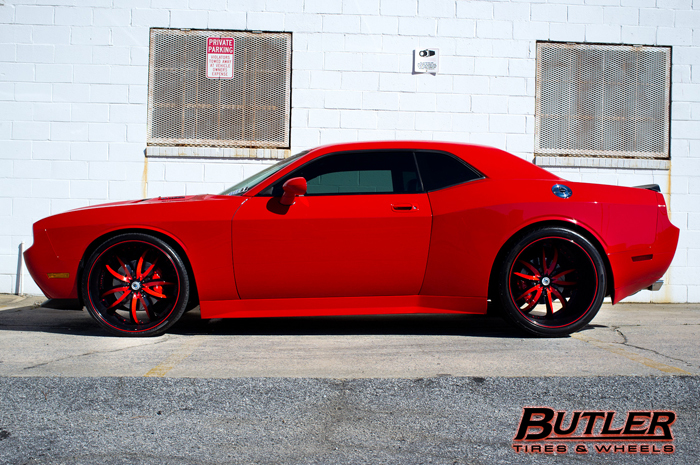 How Much Is A Tire Alignment >> Wide Body Dodge Challenger on Asanti Wheels - Trending at Butler Tires and Wheels in Atlanta GA
