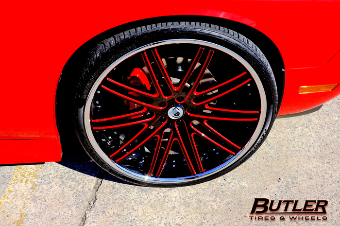 How Much Is A Wheel Alignment >> Wide Body Dodge Challenger on Asanti Wheels - Trending at Butler Tires and Wheels in Atlanta GA