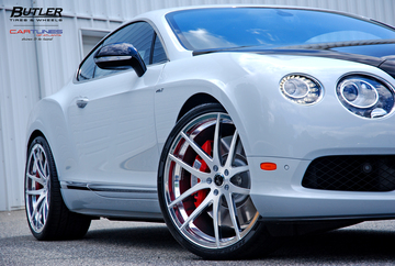 Bentley GT V8 S with 22in Savini SV40 Wheels