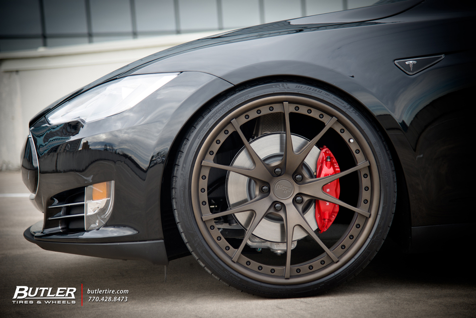 Off Road Rims And Tires Package >> Tesla Model S P85D with 22in Niche Stuttgart Wheels ...