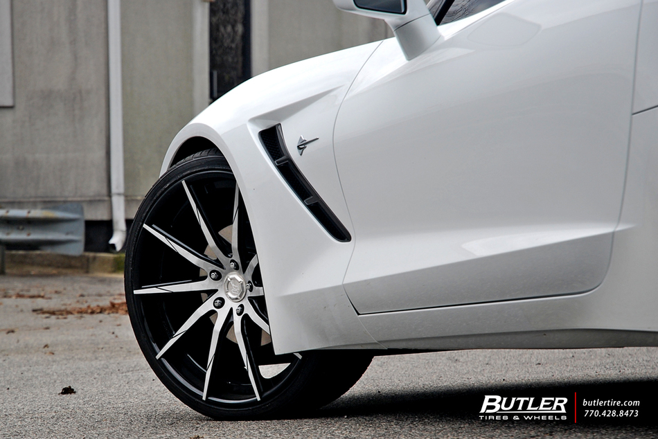 Chevy Corvette C7 Stingray With 22in Lexani Lz 101 Wheels And Toyo Tires 7
