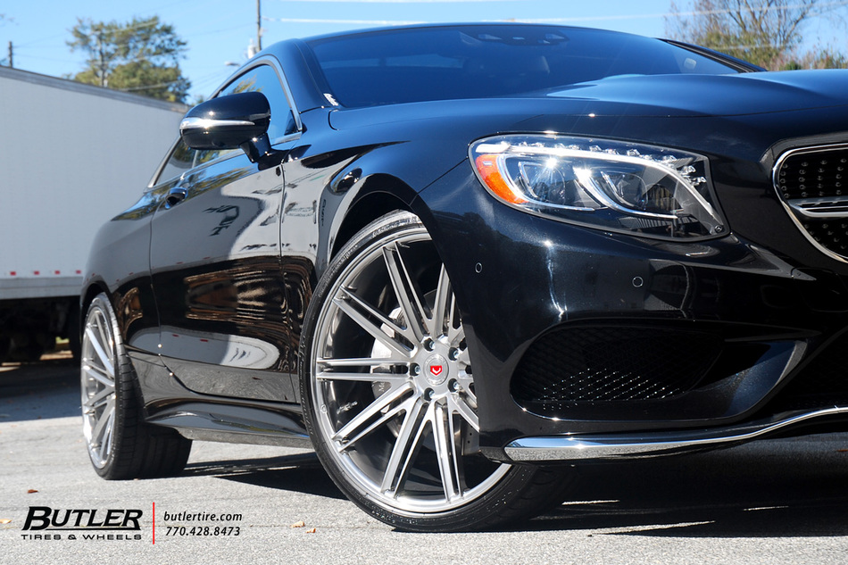 Mercedes S550 Coupe on Custom Vossen VPS-307 Forged Wheels ...