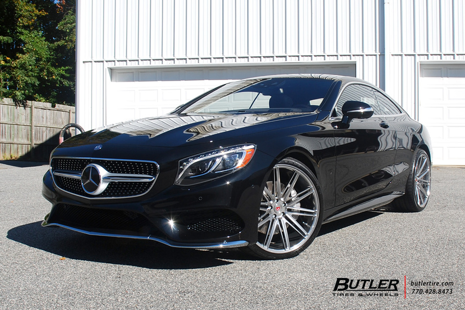 Mercedes S550 Coupe With 22in Vossen Vps 307 Wheels And Michelin Tires 3