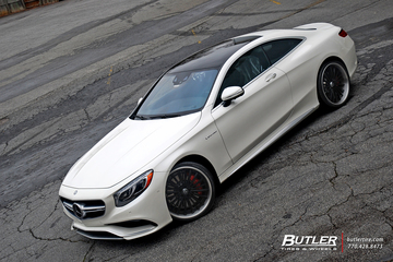 2015 Mercedes S63 Coupe on 22in Lexani LF722 Wheels
