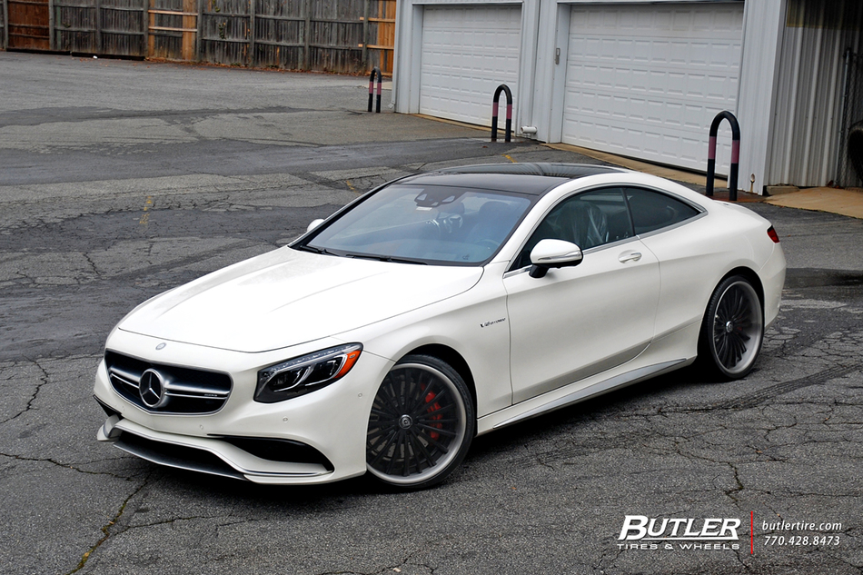 Mercedes S63 Coupe With 22in Lexani Lf722 Wheels 26