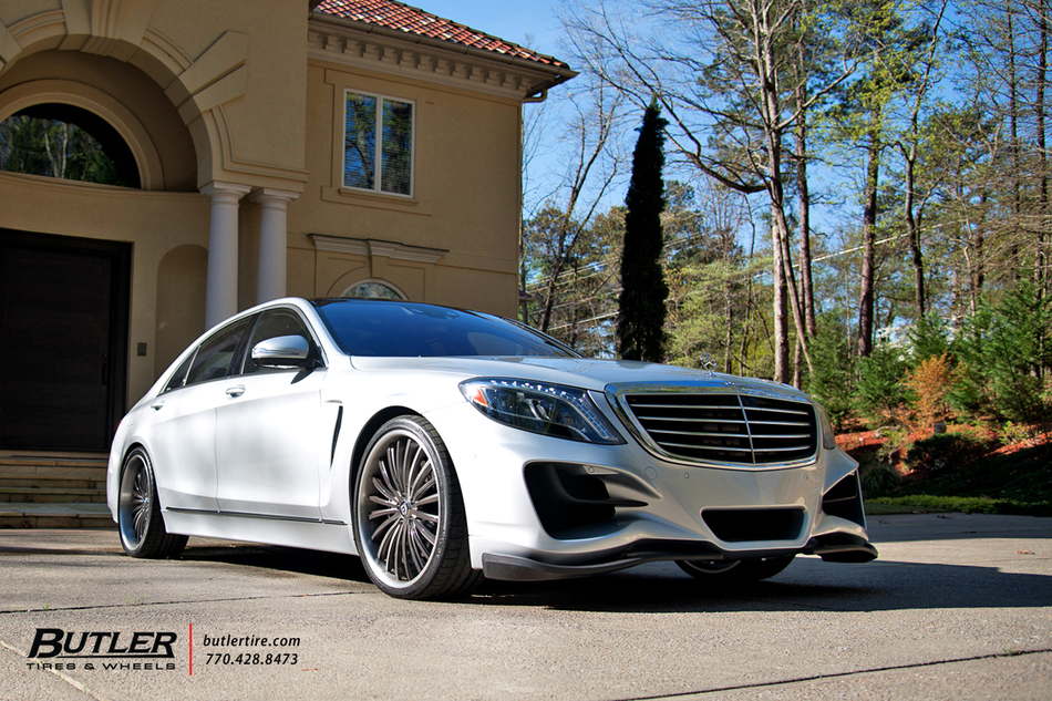Lorinser Mercedes S550 With 22in Lexani Lf722 Wheels And Michelin Tires 35