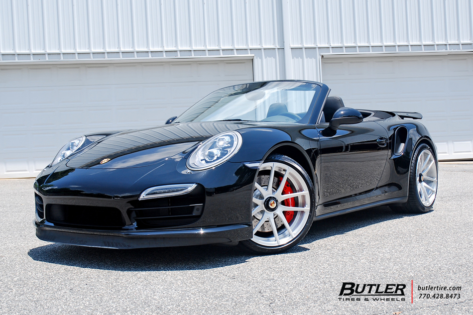 Porsche 991 Turbo With 20in Center Lock Savini Sv40d Wheels And Pirelli Tires 9