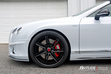 Wald Black Bison Bentley GTC V8 S on 22in Savini SV58c Wheels