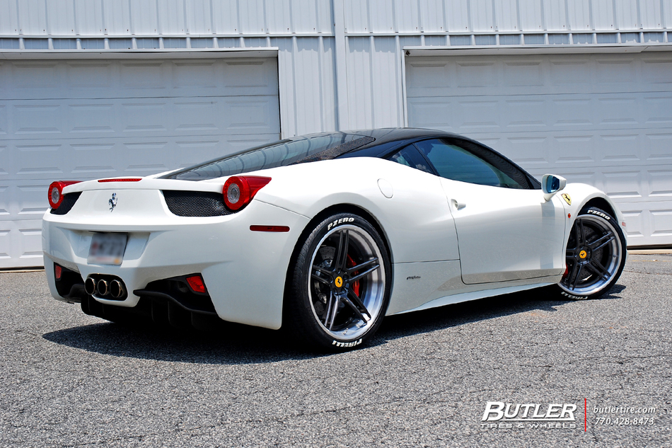 Ferrari 458 Italia With 21in Avant Garde Agl15 Wheels 17