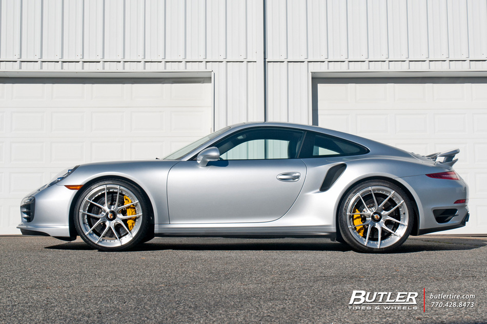 Porsche 911 Turbo S On 21in Niche Niche Targa Mono Ii Wheels Pirelli P Zero Tires 9