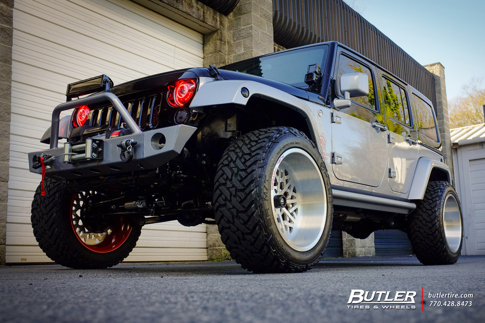 Memmo Extreme Jeep Wrangler With 22in Fuel Ff06 Wheels And Fuel Mt Tires 4