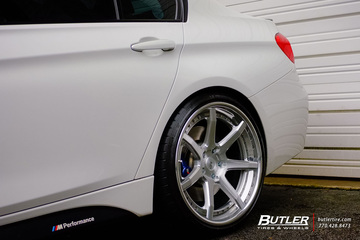 BMW 335i M-Sport on Limited Edition 20in Savini BM10-L Wheels