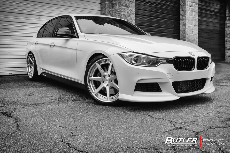 Bmw 335i With 20in Savini Bm10 L Wheels And Michelin Pilot Super Sport Tires 25