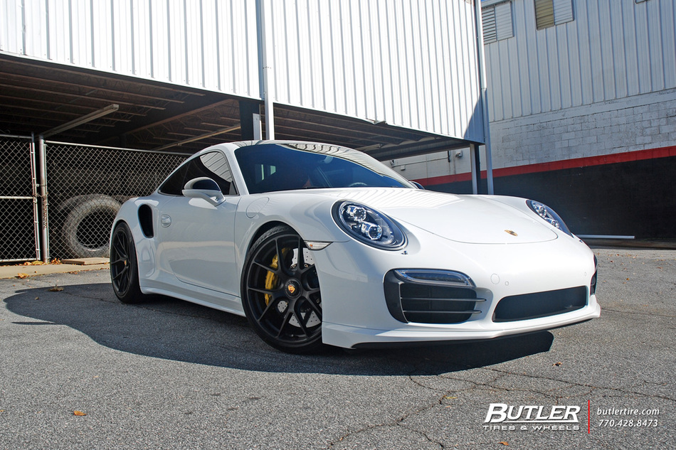 Porsche 911 Turbo S With 20in Hre P101 Centerlock Wheels And Pirelli P Zero Tires 6