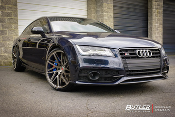 Atlanta Hawks Kent Bazemore customizes his Audi S7 with Vossen VPS-314T Wheels
