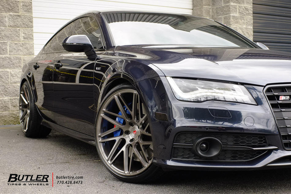 Audi S7 With 22in Vossen Vps 314 T Wheels And Continental Tires 16