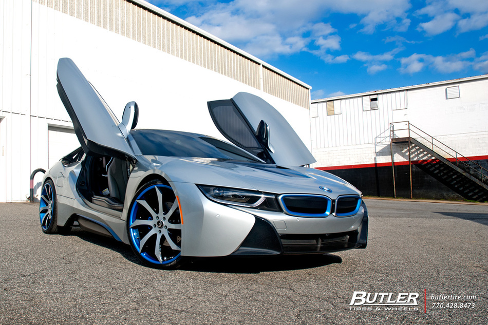 Bmw I8 On Custom 22in Forgiato Fondare Ecl Wheels Trending At