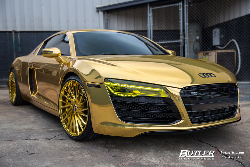 Audi Of Atlanta >> Atlanta Hawks Dennis Schröder goes all Gold with his Audi R8 on Savini SV64 Wheels - Trending at ...