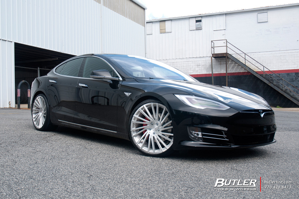 Tesla Type S P90 D With 22in Lexani M119 Wheels And Vredestein Tires 2