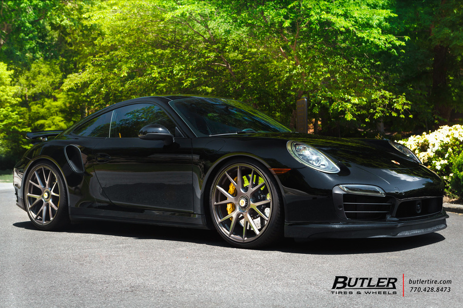 Porsche 911 Turbo S With 21in Vossen Vps 306 Wheels And Pirelli P Zero Tires 2