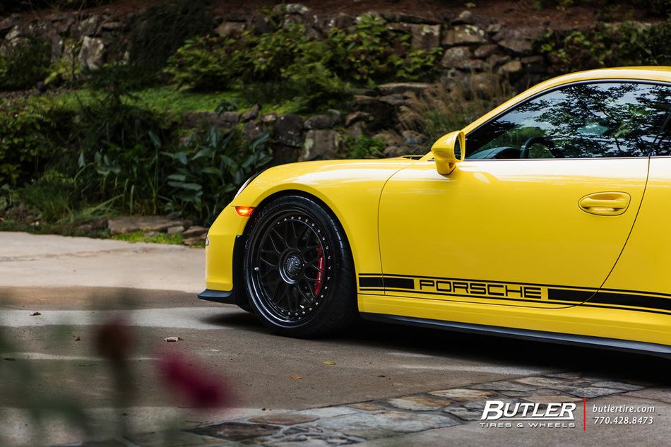 Porsche 911 Gt3 With 20in Hre Classic 300 Wheels And Michelin Tires 3