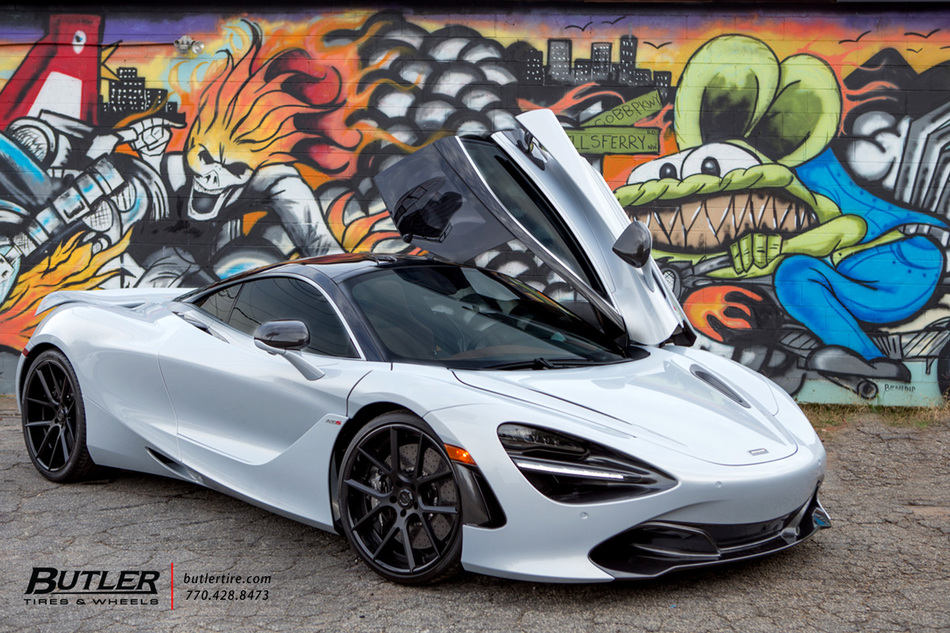Mclaren 720s With Lexani Lz 118 Wheels Trending At