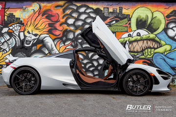 McLaren 720S with Lexani LZ-118 Wheels
