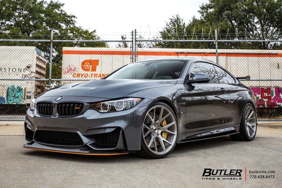 Bmw M4 Gts With 20in Vossen Vps 306 Wheels And Michelin Pilot Super Sport Tires 6