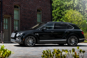 Bentley Bentayga on 22in Vossen VPS-307T Wheels